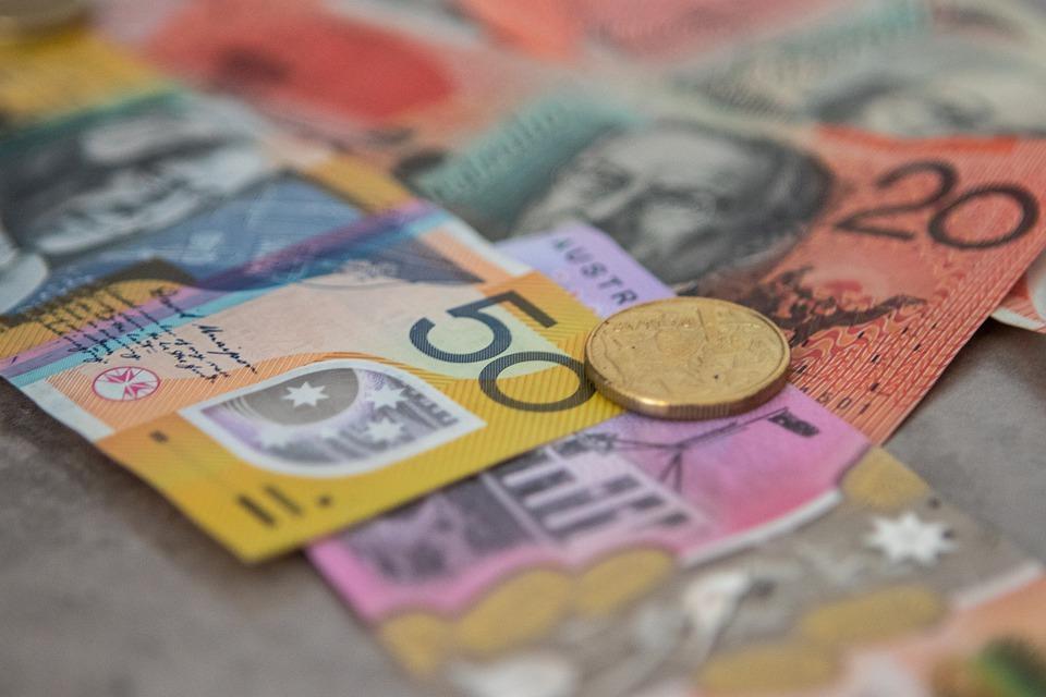 australské peníze
